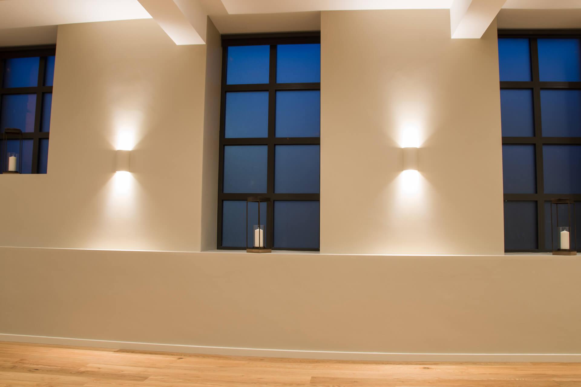 Be Yoga Space hot yoga studio windows